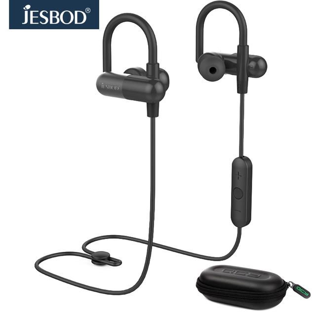 Conjuntos de CAIXA de combinação portátil QY11 Jesbod esporte fone de ouvido estéreo fones de ouvido sem fio bluetooth fone de ouvido fone de ouvido e Caixa De Armazenamento