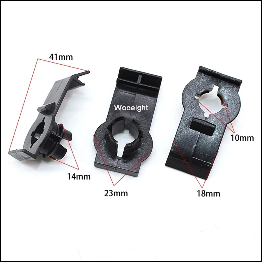 Image 2 - 4Pcs 51338254781 Front Left / Right Window Regulator Retaining Clip Fits For BMW E53 X5 2000 2006 Bracket Guide Clips-in Auto Fastener & Clip from Automobiles & Motorcycles