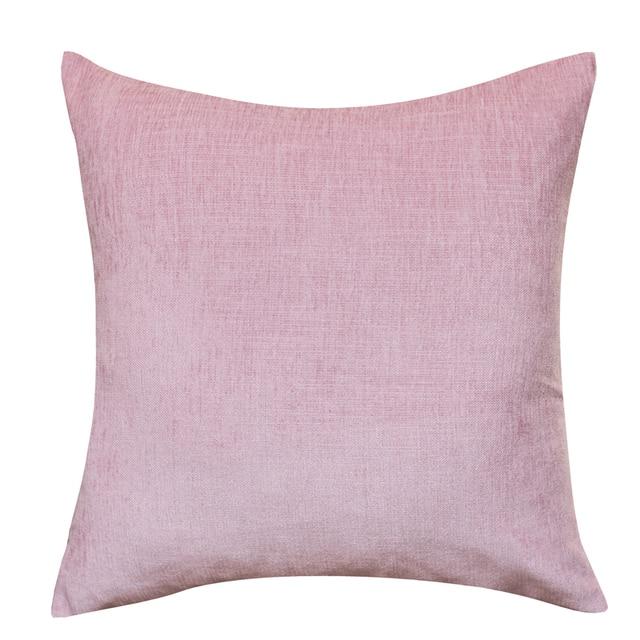 Home Decor Cushion Cover Pink Chair Cushion Sofa Pillow Decorative Throw  Pillows Simple Design Car Cover