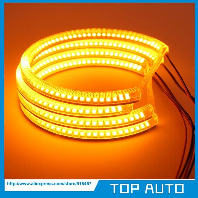 4X131MM SMD LED Angel Eyes Kit Halo Rings Headlight For BMW E36 E38 E39 E46 M3_640x640 4x131mm smd led angel eyes kit halo rings headlight for bmw e36 e38
