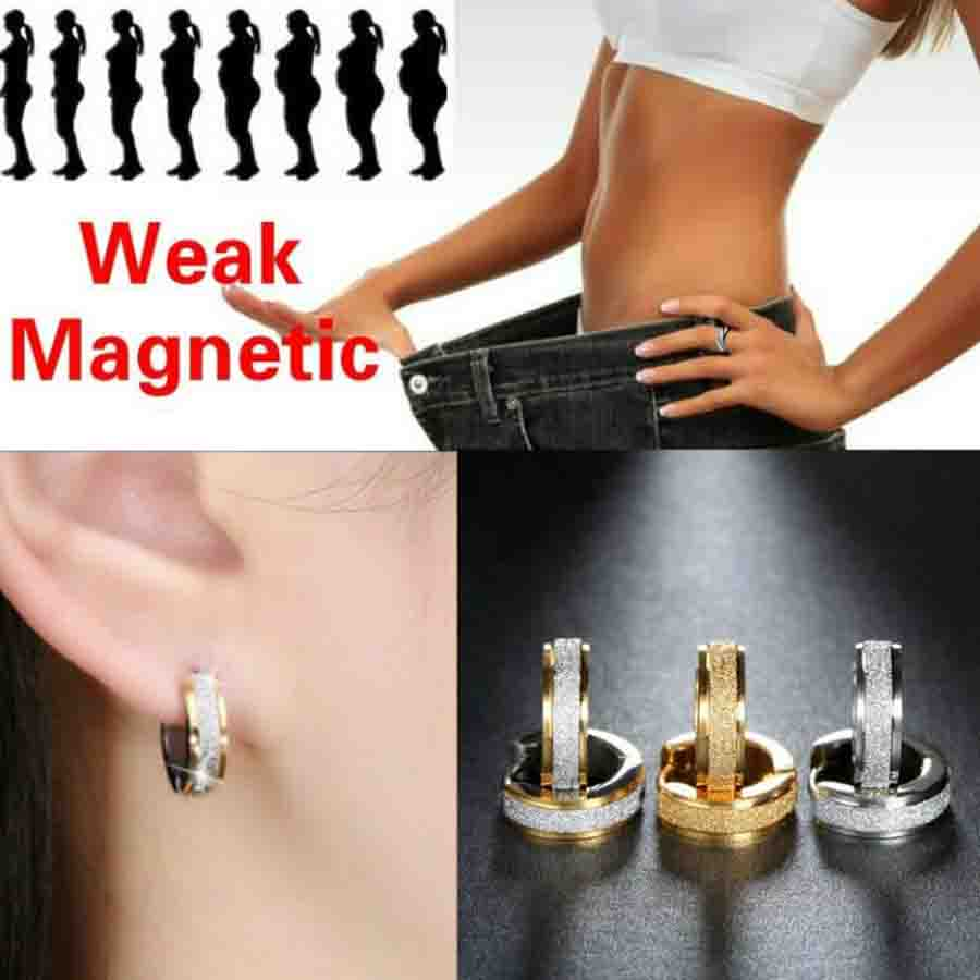 New Grind Stainless Steel Healthcare Weight Loss Earrings Hand String Slimming Healthy Stimulating Acupoints Gallstone Earring