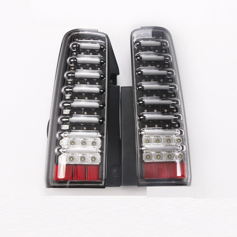 Off-Road Car Styling For Suzuki Jimny JB43 LED Tail Lights Assembly Brake Light Reversing Light Rear Lights car styling tail lights for toyota highlander 2015 led tail lamp rear trunk lamp cover drl signal brake reverse