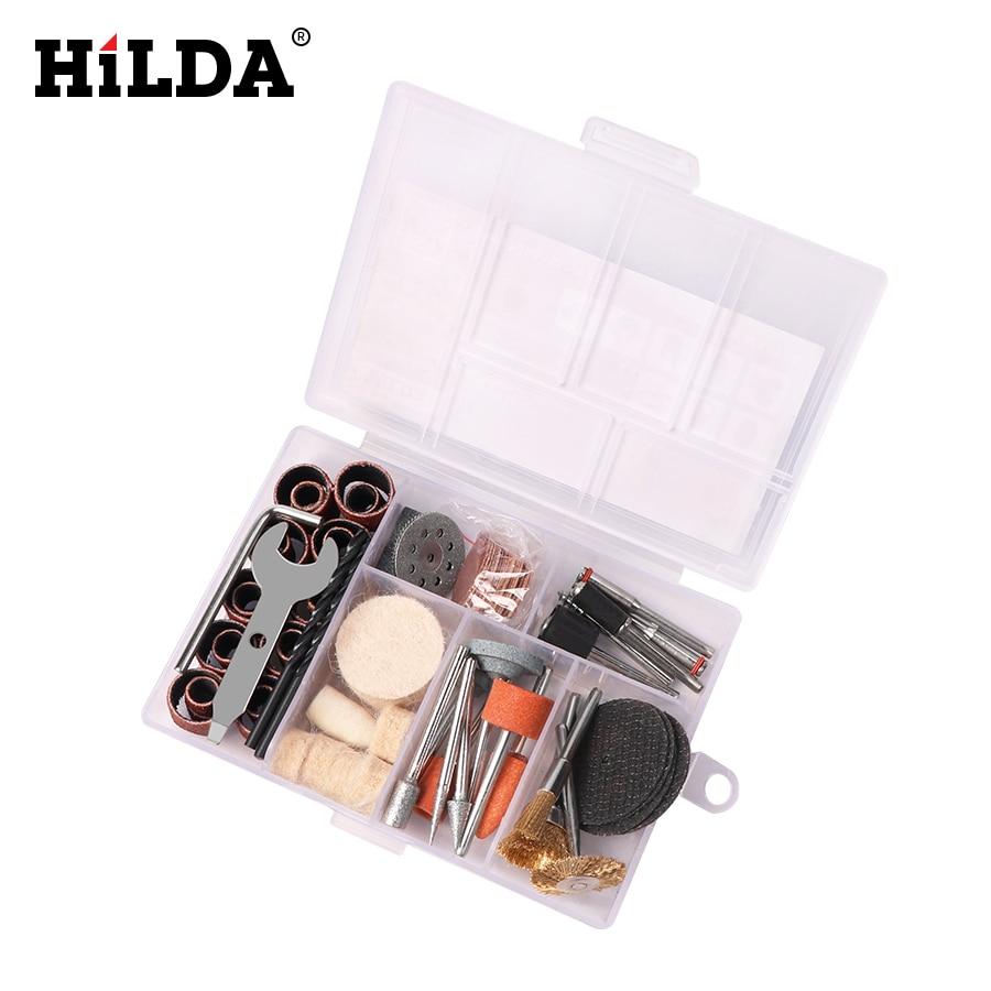 """""""HILDA 92Pcs"""" medžio metalo graviravimo elektrinis sukamųjų - Elektrinių įrankių priedai - Nuotrauka 5"""