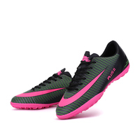 Durable Adults Men S Soccer Indoor Shoes TF Turf Low Top Soccer Cleats Football Trainers Sports