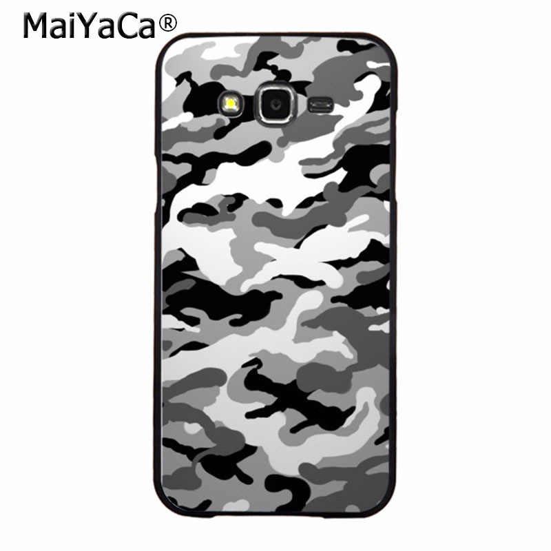 Maiyaca الأزياء العسكرية التمويه عالية الجودة اكسسوارات غطاء الهاتف لسامسونج 2015 j5 j7 2016 j1 j1 j3 j5 j7 note3 4 5
