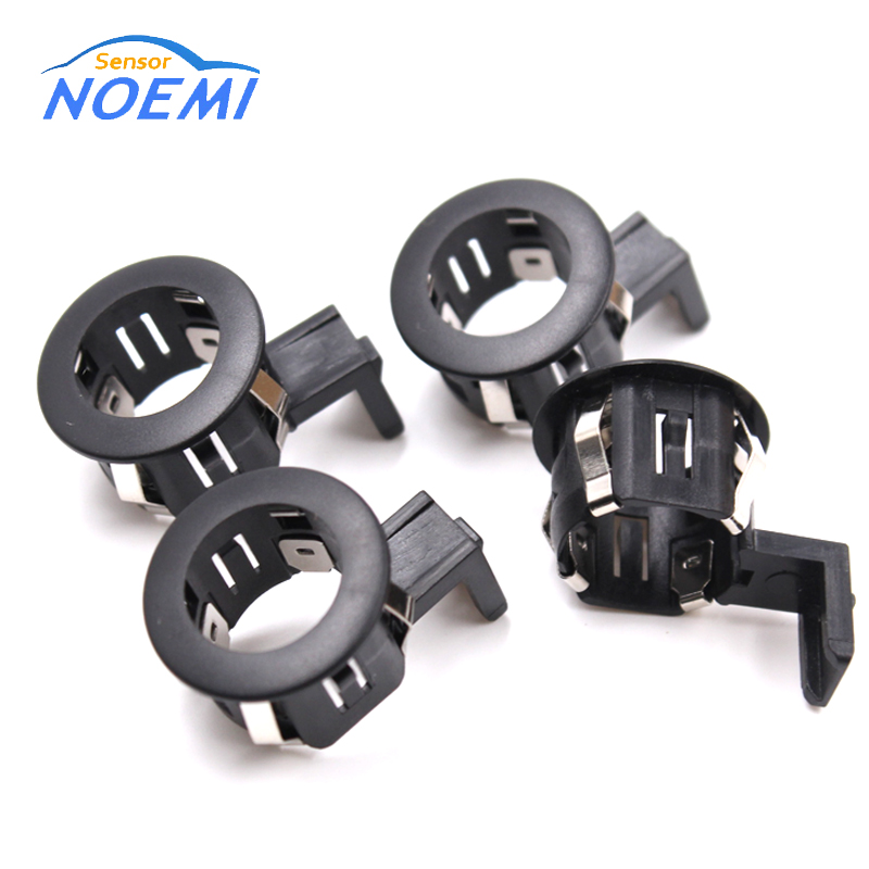 YAOPEI 4PCS Sensor Tempat Letak Ultrasonik Warna Hitam 39681-TL0-G01 39681-TL0-G01ZD PDC Parking Radar Sensor Bracket For Honda