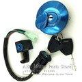 Monkey Bike Z50 4 Wire Ignition Switch Kit fuel tank Lock key cap FOR honda moto MONKEY bike z 50