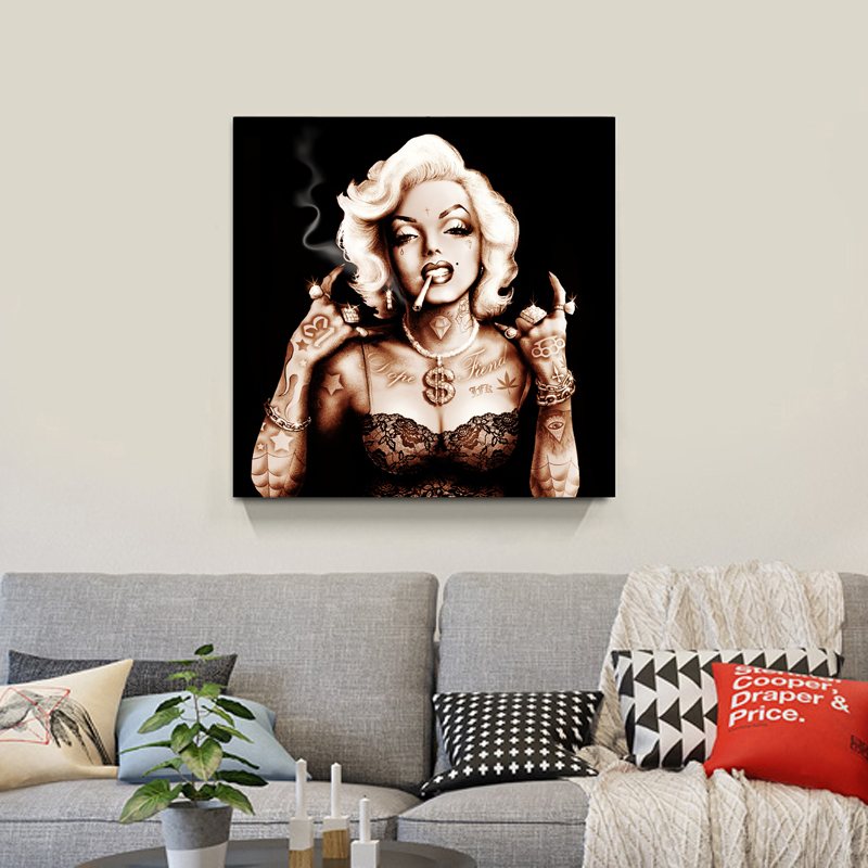 marilyn monroe living room marilyn modern canvas painting wall pictures for 11980