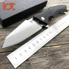 LDT Snake XJ11 Folding Knife 9Cr18Mov Blade G10 Handle Camping Hunting Knife Outdoor Survival Tactical Pocket Knives EDC Tools цена 2017