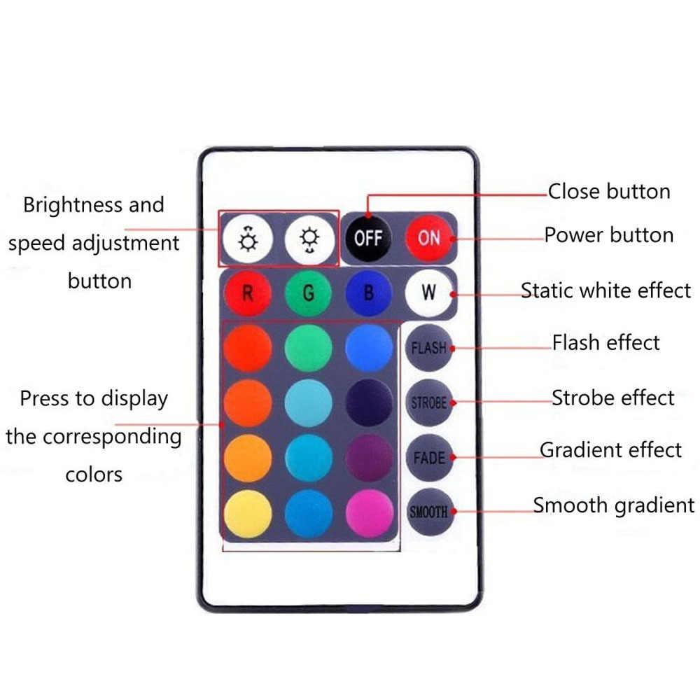 5 M SMD2835 RGB Dây ĐÈN LED Ánh Sáng DC12V 54 đèn LED/M Diode Neon Ruy Băng tira fita Đèn LED Linh Hoạt đèn Dây Có adapter