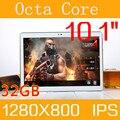 10.1 de polegada de metal tablet PC Android 6.0 tablet Pcs telefonema octa núcleo 4 GB RAM 32 GB ROM Dual SIM GPS IPS FM bluetooth tablets