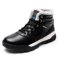 Brand Newest Super Warm Winter Boots Men High Quality Wear Resisting Casual Shoes Working Men Combat
