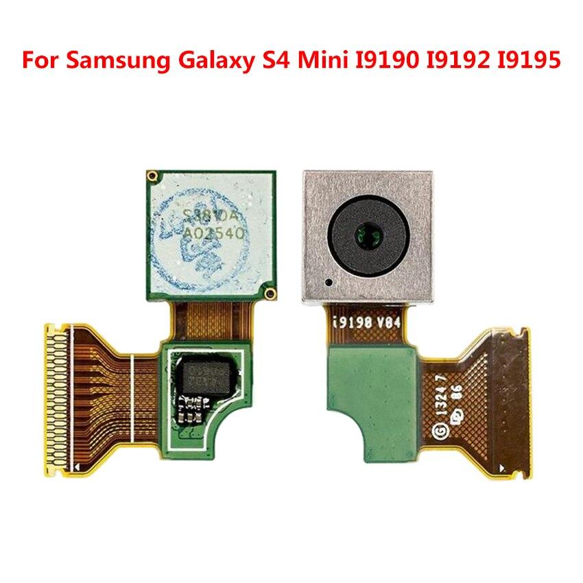 2e9a011878f Módulo de cámara para Samsung Galaxy S4 Mini GT-I9190 GT-I9195 cámara  trasera piezas de repuesto - a.sheiladumlao.me