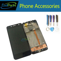 1PC Lot Black Color High Quality For Motorola OT6012 LCD Display And Touch Screen Digitizer With