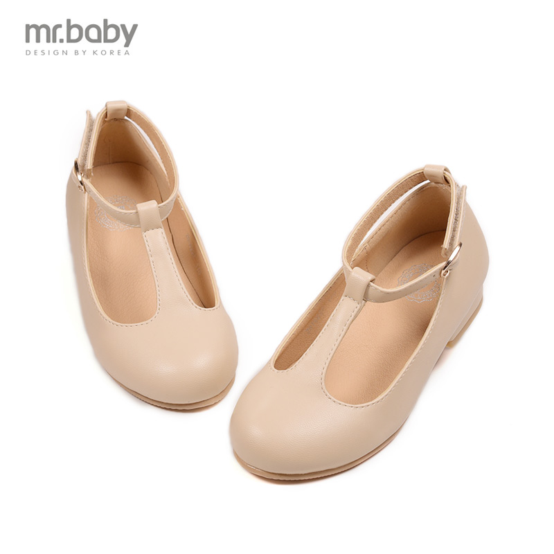 Mr.baby spring new Korean girls shoes leather shoes children shoes