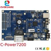 Venta Lúmenes C Power7200 video asincrónico LED controlador tarjeta de memoria placa principal rango de Control 640x480