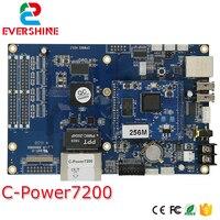 Lumenów C Power7200 asynchroniczny wideo kontroler LED/karty pamięci/płyty głównej zakres regulacji 640x480 pikseli w Moduły LED od Lampy i oświetlenie na