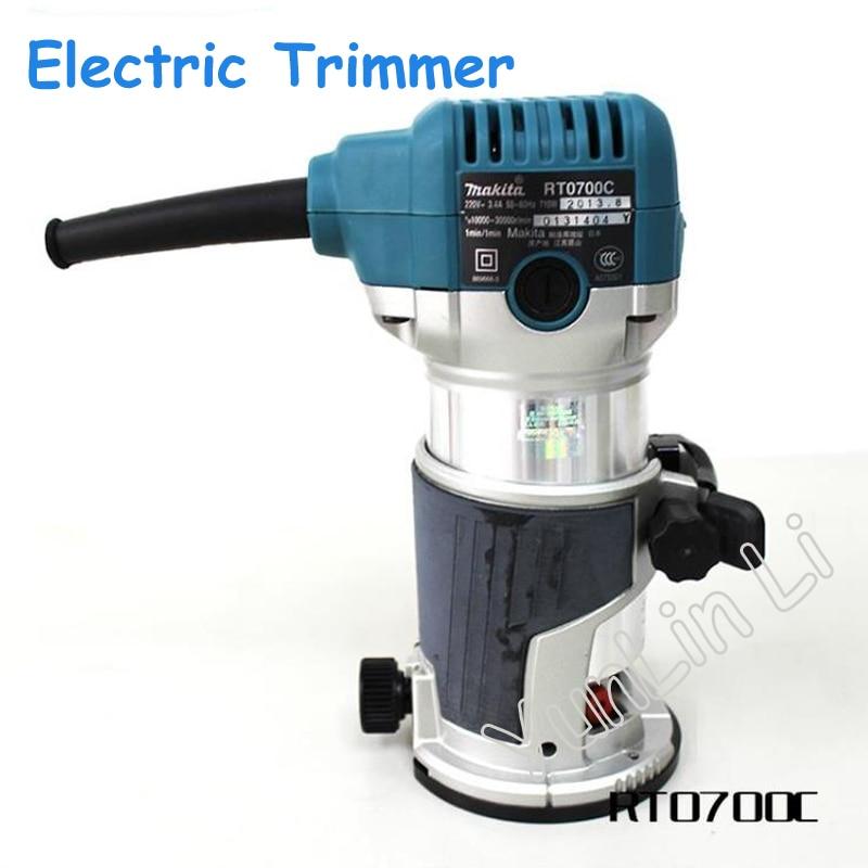 Tondeuse électrique à bois tondeuse vitesse gravure Machine à bois rainurage bakélite fraisage RT0700C