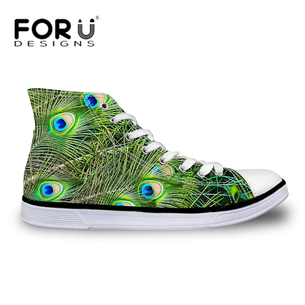 ФОТО FORUDESIGNS Brand Man Canvas Shoes Casual Platform Canvas Shoes Student Durable High Ankle Shoes High Quality Shoes