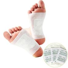 20pcs box Giner Detox Foot Patch Swelling Relax Chinese Herbal Foot Pad Anti Fat Feet Patch