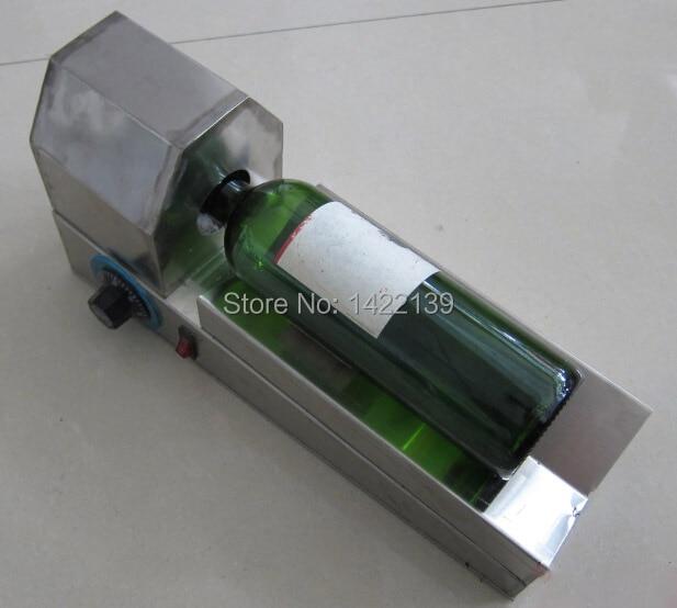 PVC heat shrinkable plastic bottle cap red wine shrink machine