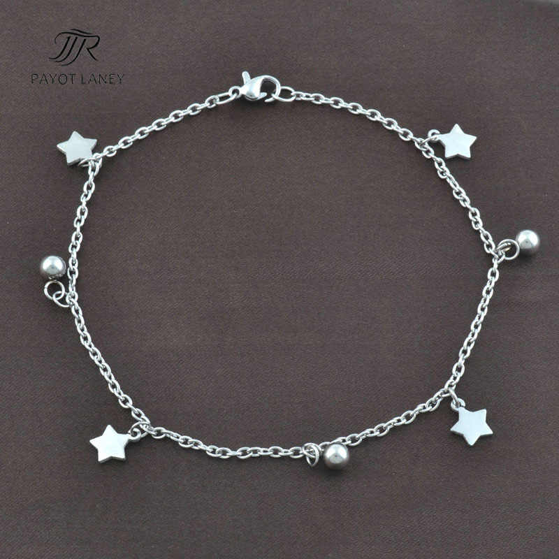 Stainless Steel Anklet Bracelet on Foot Ankle Bracelet Anklet-1