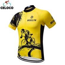 2018 Roupa Cycling Jersey Man Mtb Cycling Clothing Ropa Ciclismo Short Sleeve Fox Bicycle Bike Jersey Shirt Maillot Ciclismo