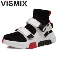 men Mesh Shoes Summer Breathable Casual Shoes Fashion Comfortable Lace Up Loafers Men Cool Flats Shoes Black White Shoes