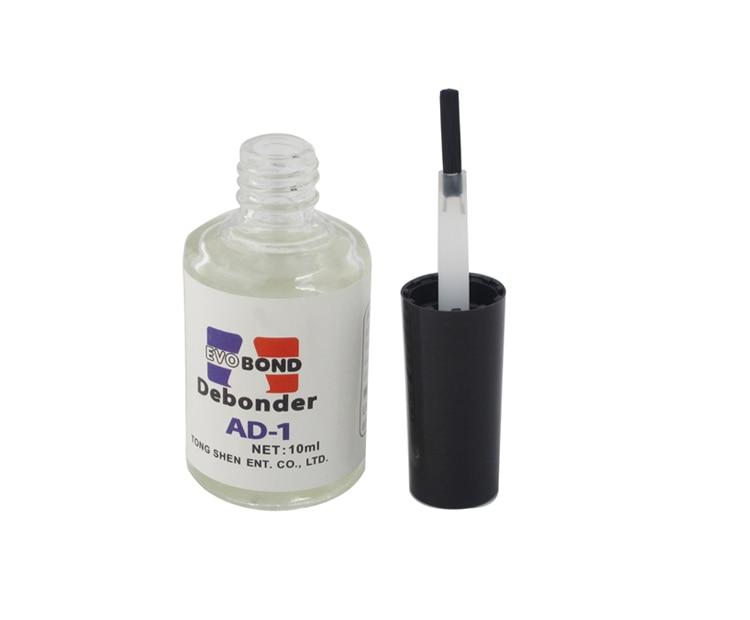 High Quality Pro 10ml Individual False Eyelash Adhesive Glue Remover Liquid Debonder AD-1 Nail Glue Remover Hot Sale