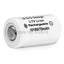 Baterias de Lanterna-frete 2 Pçs e lote GRF H 10180 70 MAH 3.7 V Fada e minúsculo e magro e hobi Bateria Li-ion Recarregável Grátis