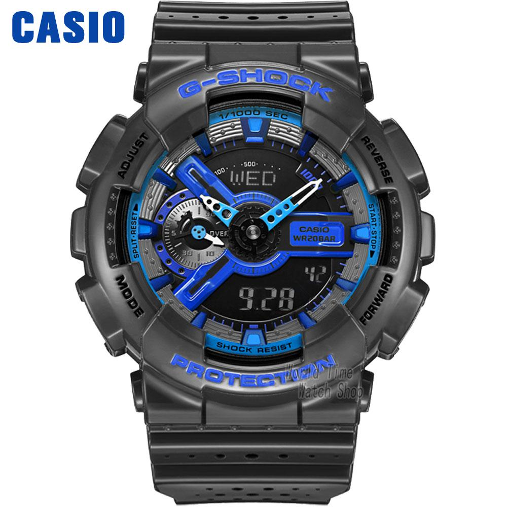 Casio watch G-SHOCK Large dial double display sports men watch GA-110LPA-1A GA-110LPA-4A GA-110LP-1A духи ninaricci nina ricci 80ml