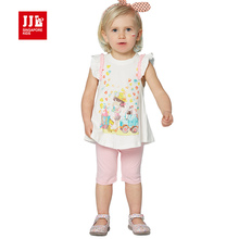 baby clothing sets girls clothes 2pcs cartoon print infant clothing suits brand girls clothings sets for newborn clothes suits