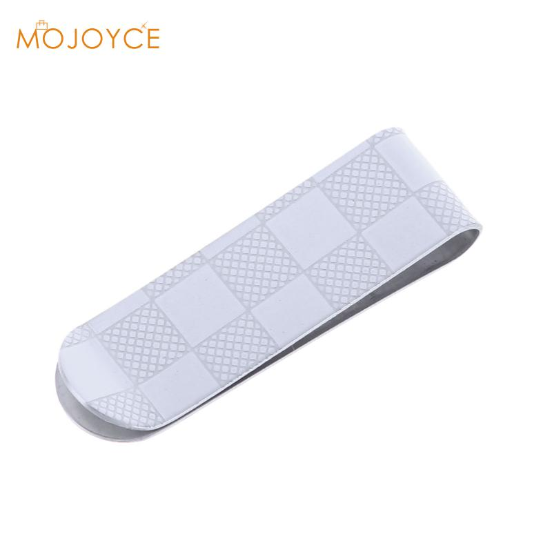 Money Clip Cash Clamp Holder Portable Stainless Steel Money Clip Wallet Purse for Pocket Metal Money Holder HOT Mini Money Clip high quality stainless steel money clips wallet folder clip collar metal clip simple money clip stainless steel money clamp hold