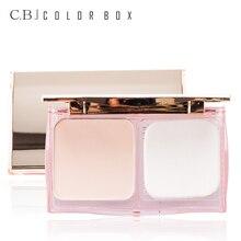 COLOR BOX Matte Powder Concealer Face Foundation Base Make Up Brighten Palette Contour Makeup Professional Cosmetics