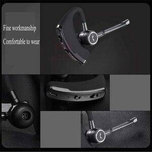 Image 4 - MEUYAG auriculares V8S inalámbricos por Bluetooth para coche, auriculares manos libres con micrófono para iPhone y Xiaomi