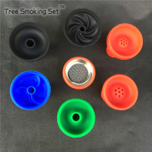 Bowl specifications Silicone Smoke Bowl Hookah Pot Accessories Hookah silicone bowl Shisha Tobacco Drop Shipping 1pc wholesale