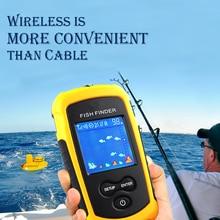 Морской gps рыболовная приманка эхолот рыболовный инструмент Дисплей Сигнализация 100 м портативный эхолот lcd высокое разрешение эхолот