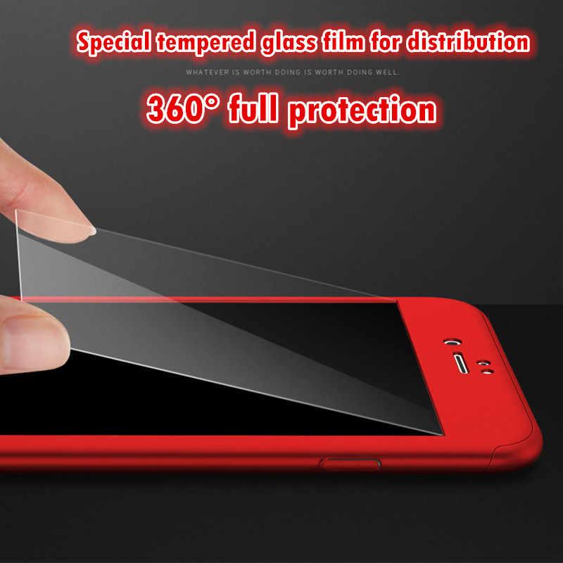 360 フルカバー電話ケース iphone × 8 6 6 s 7 プラス 5 5 s 、 se 保護カバー iphone 6 7 8 プラス 6 S 7 8 プラスケースカバーガラス