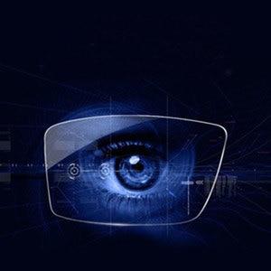 Image 4 - 1.56 1.61 1.67 Photochromic Gray Lenses with Anti blue Ray Protection Optical Prescription Glasses Myopia Hyperopia Lenses