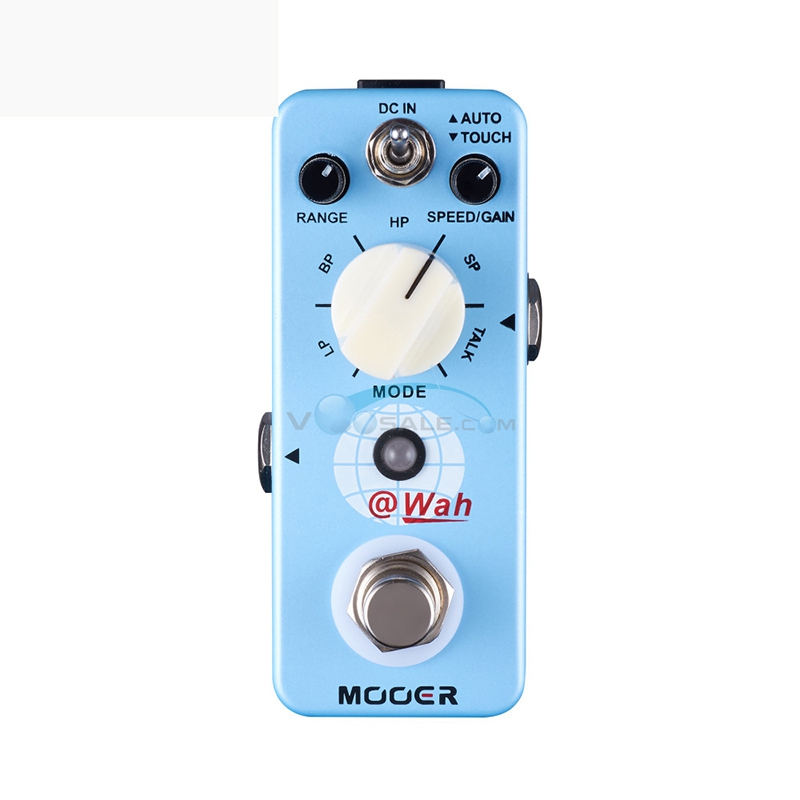 Mooer @Wah Guitar Effect Pedal Auto Touch 4 Different Wah Filter Effect Models and 1 Talk Effect mooer funky monkey auto wah pedal wide adjustable range auto wah effects effect pedals free shipping