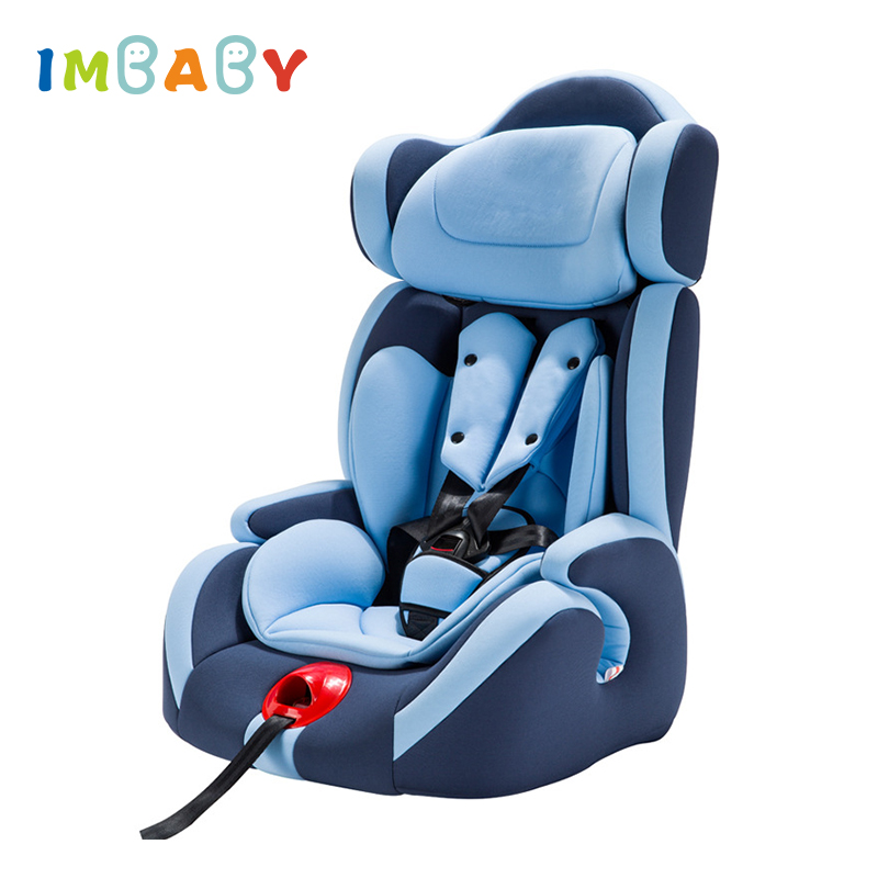 все цены на IMBABY Baby Car Seat 9M-12Y Children Kids Auto Safety Seat baby Protection Chair Kids Safety Seat