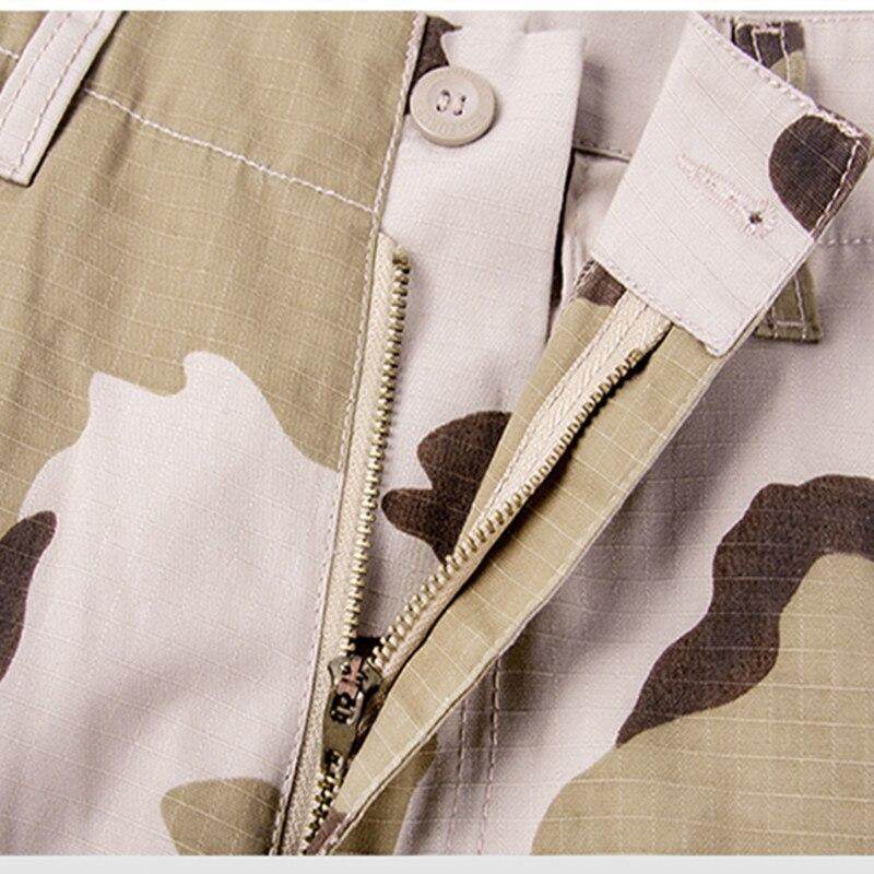 Большой размер 28 - 44 мужская брюки-карго военная тактические армия брюки-карго камо боевые брюки мульти-карманы камуфляж свободного покроя полная длина