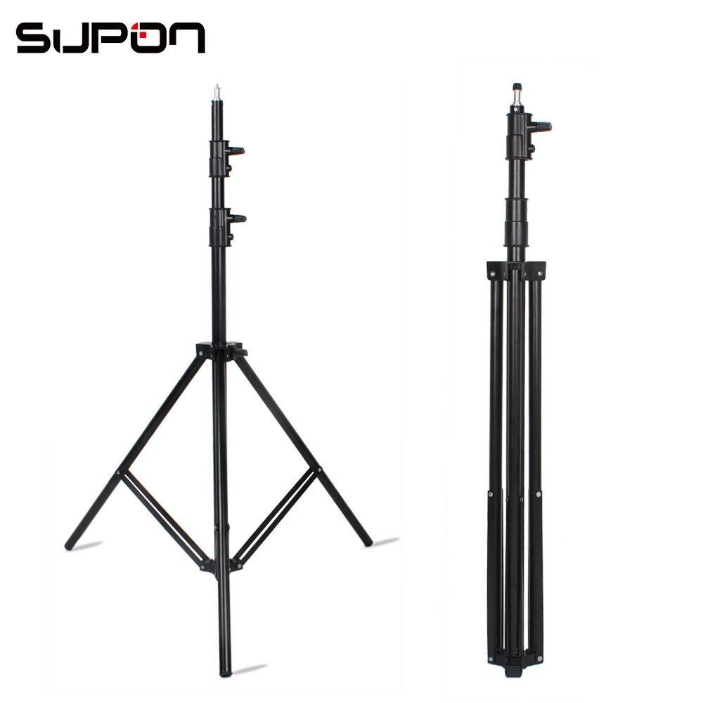SUPON Фото студийное освещение для видеосъемки стенд 10ft 300 см воздушной подушке для фото студия вспышки софтбокс для вспышки и светодио дный п...