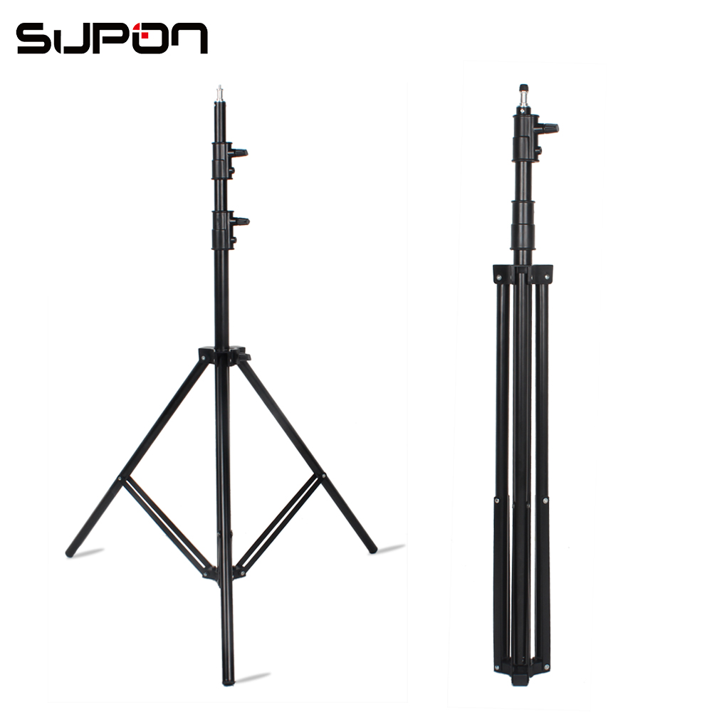 SUPON Photo Video Studio Light Stand 10ft 300cm Air Cushion for Photo Stuido Strobe Lamp Softbox and LED right light цена