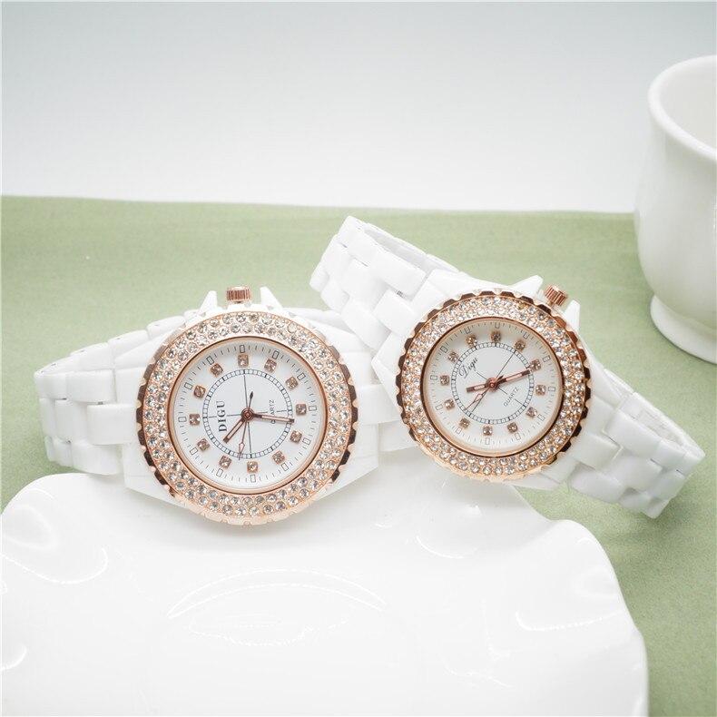 CW013 Women Watches 2019 Fashion Watch Geneva Stainless Steel Watch Ladies Watch Luxury Rhinestone Quartz Gold