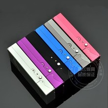 Metal Cigarette Box for 20PCS Slim Cigarettes Storages Colorful Case travel outdoor metal