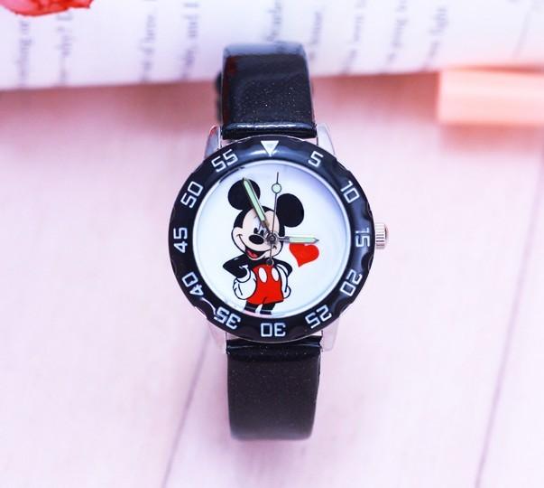 New fashion minnie desgin Watches Children Kids ladies women Boys gift Watch Cas