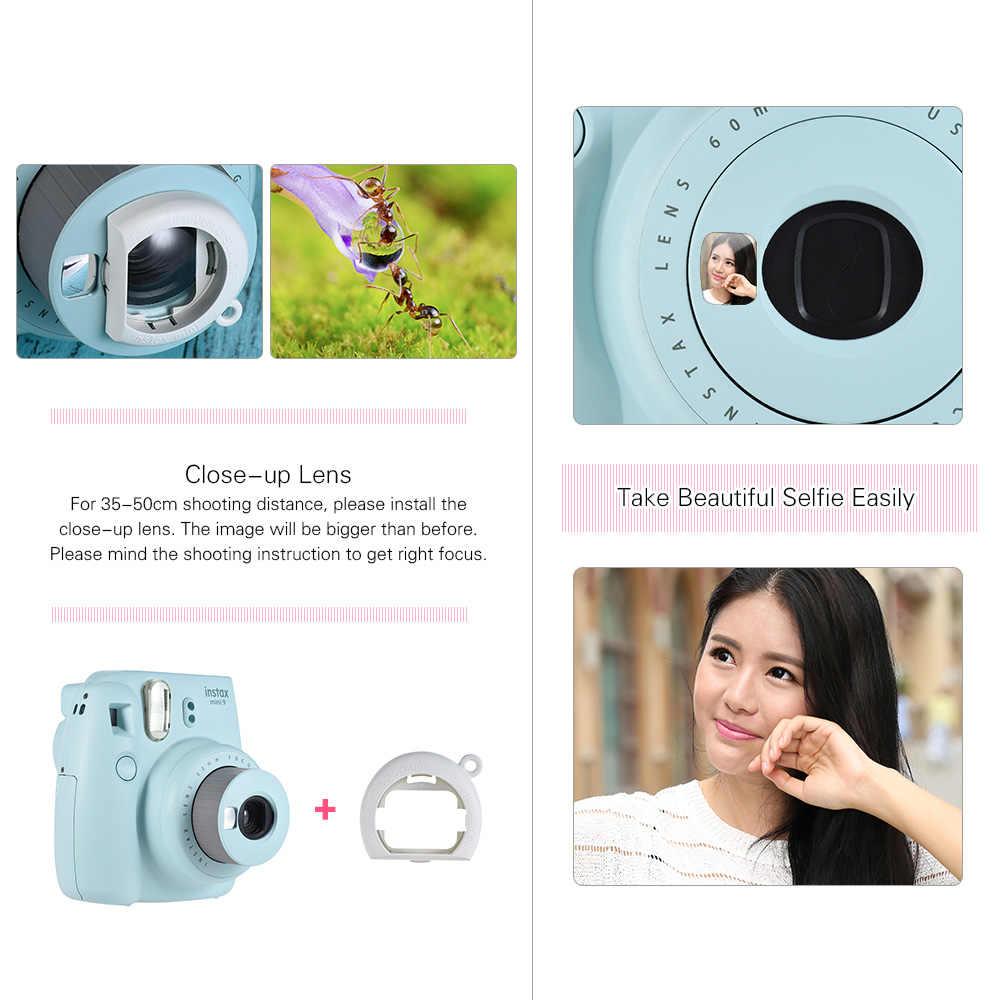 Fujifilm Instax Mini 9 мгновенная камера пленка фото камера всплывающая Len Автоматическая измерительная камера + 50 листов Fujifilm Instax Mini 8 9 пленка