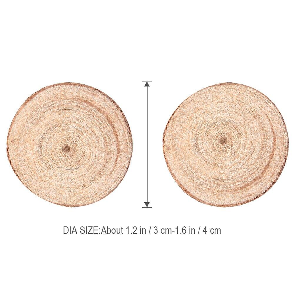 Easter 30pcs Wood Log Slices Discs for DIY Crafts Wedding ...