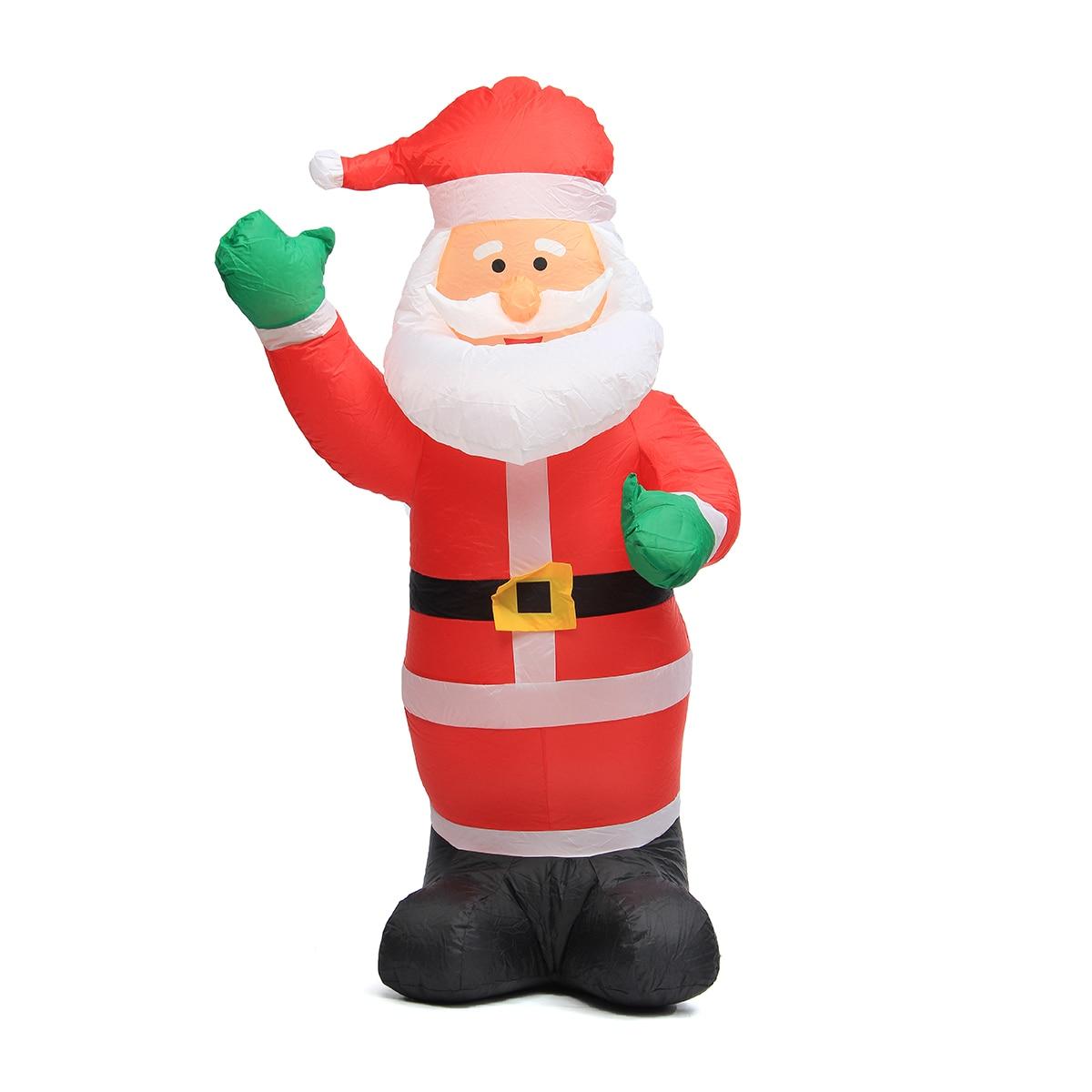 Air Inflatable Santa Claus Snowman Indoor Outdoor Airblown Christmas ...